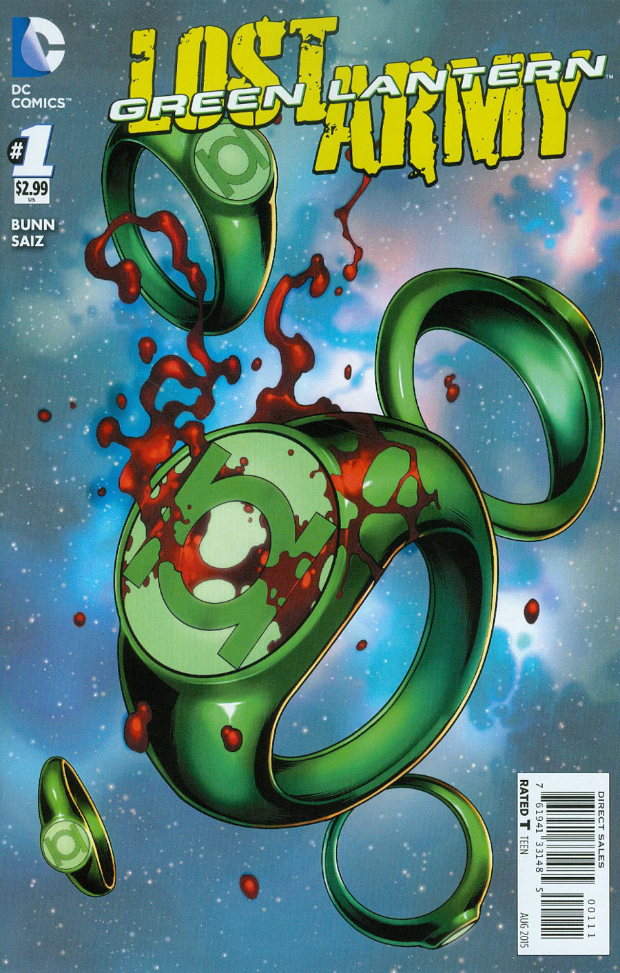 Green Lantern The Lost Army #1 Cover A Regular Jesus Saiz Cover