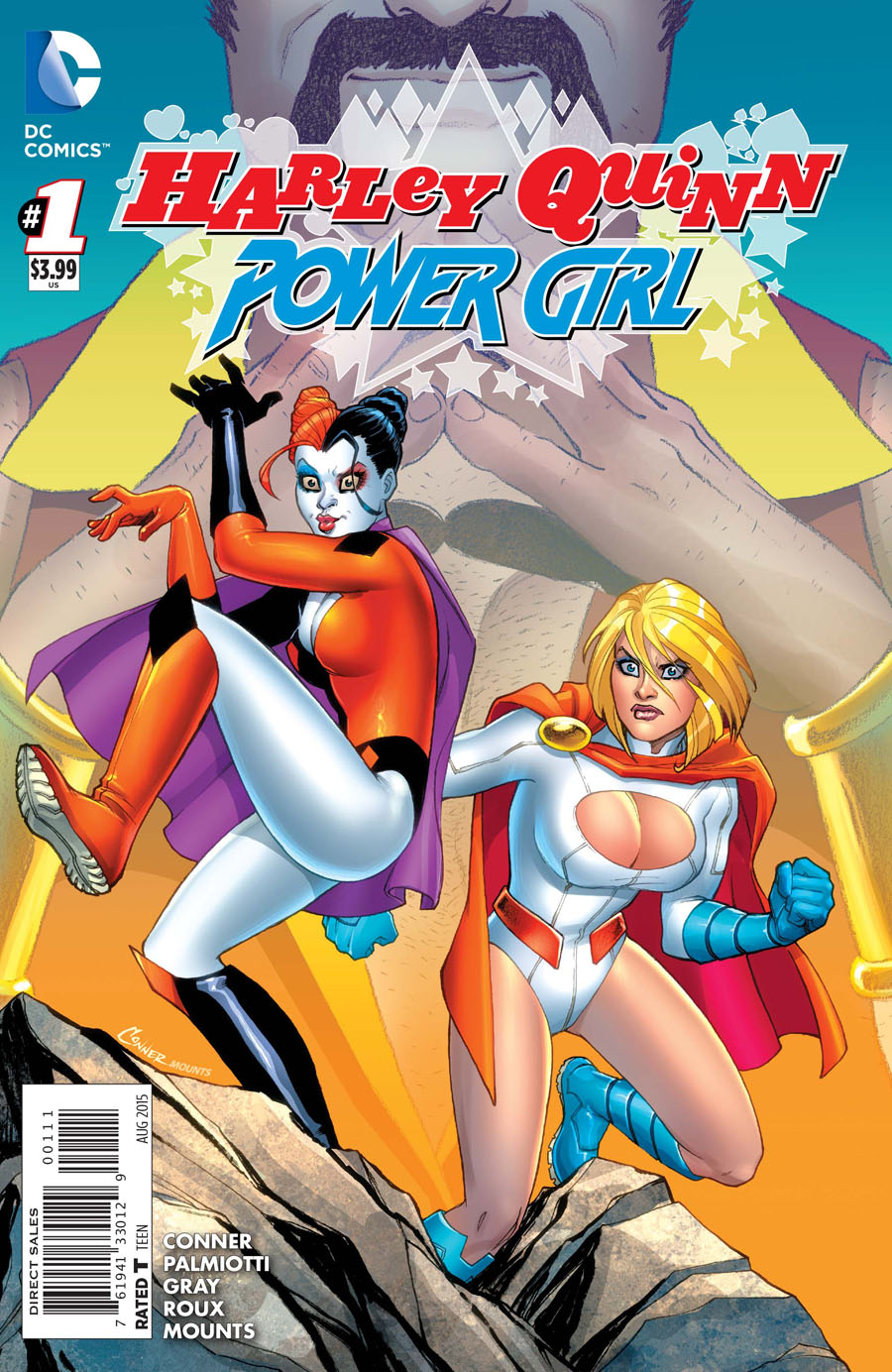 Harley Quinn And Power Girl #1 Cover A Regular Amanda Conner Cover
