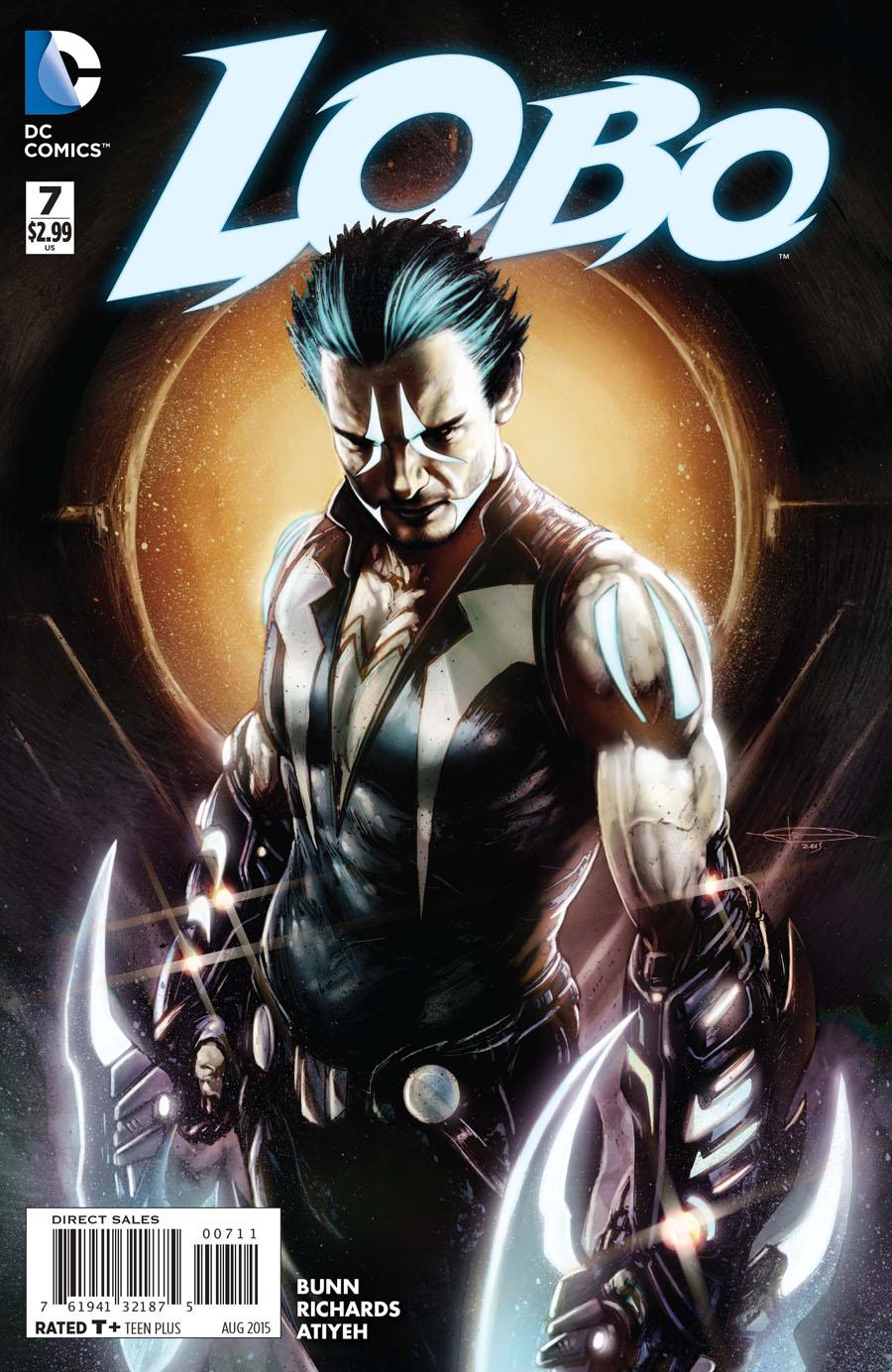 Lobo Vol 3 #7 Cover A Regular Cliff Richards Cover