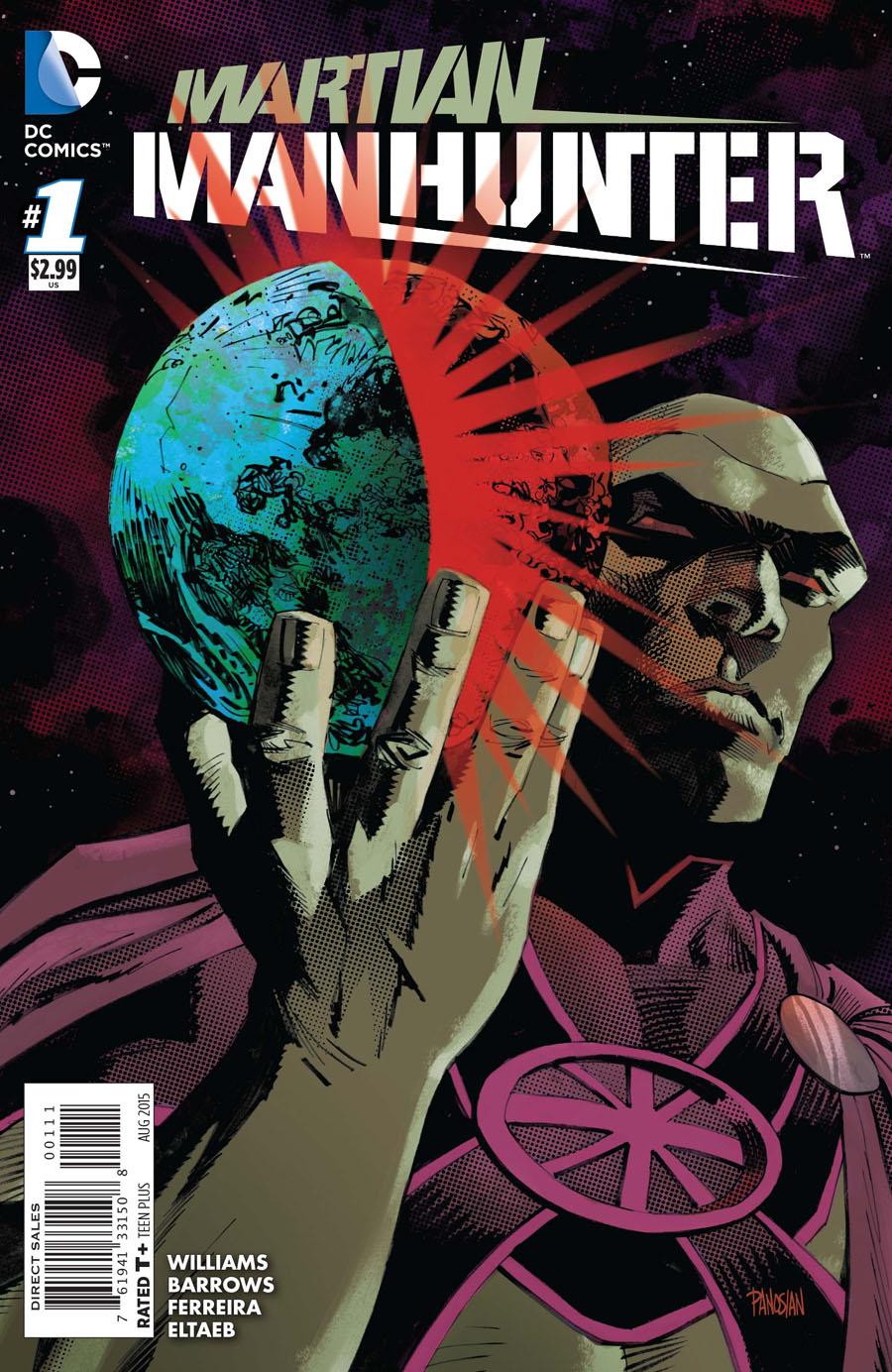 Martian Manhunter Vol 4 #1 Cover A Regular Eddy Barrows & Eber Ferreira Cover