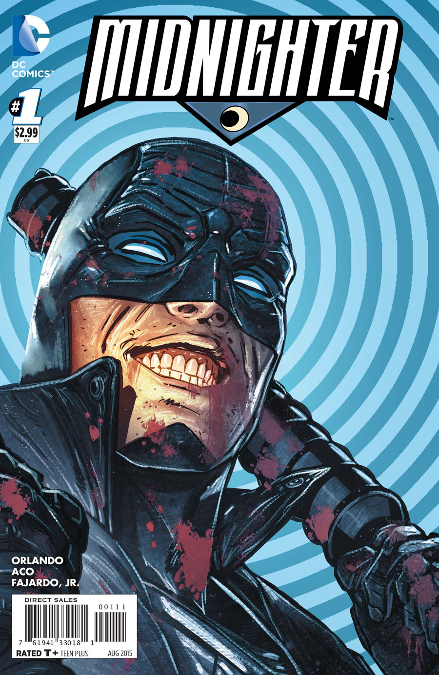 Midnighter Vol 2 #1 Cover A Regular Aco Cover