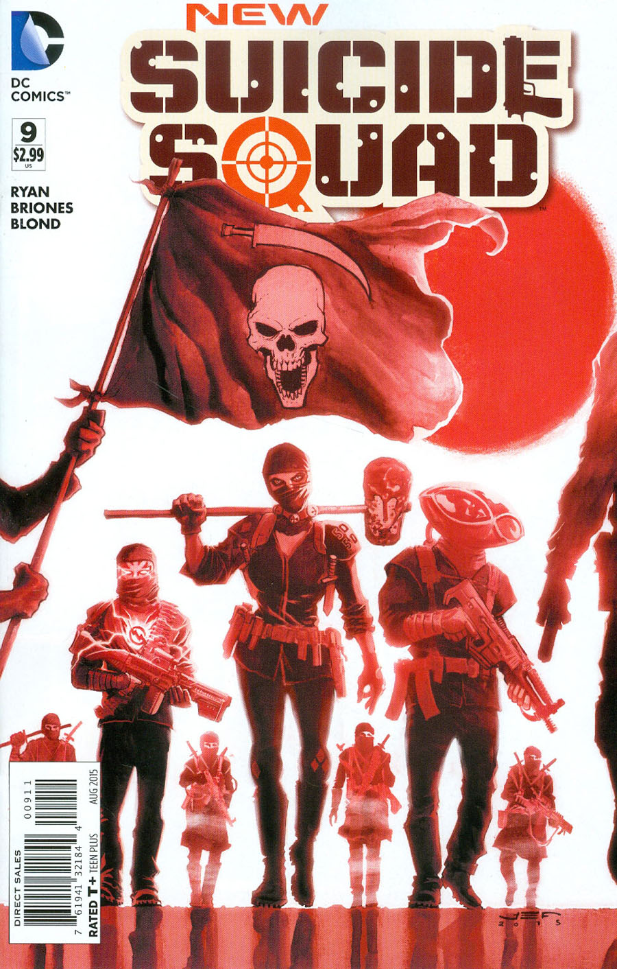 New Suicide Squad #9 Cover A Regular Juan Ferreyra Cover