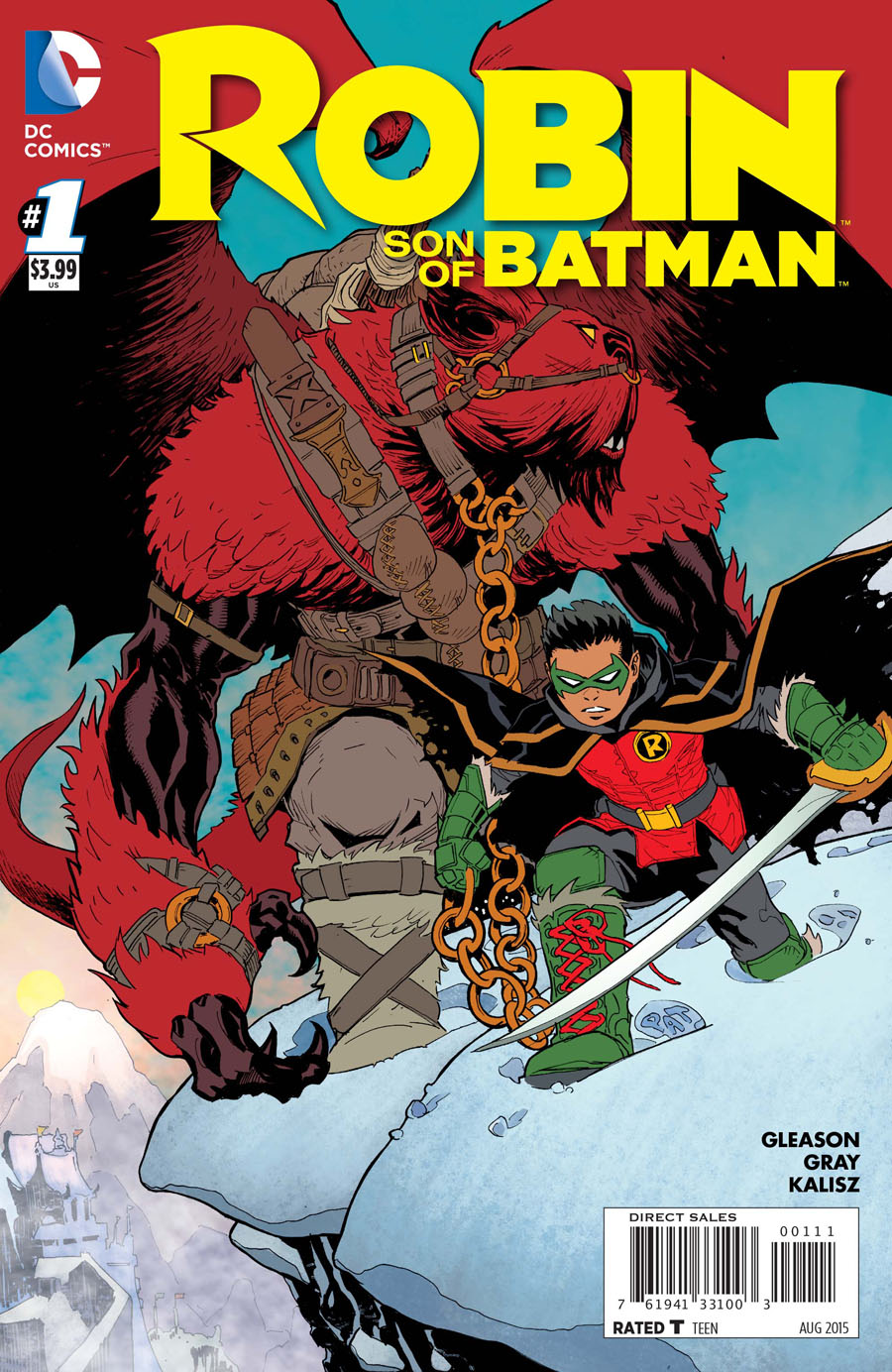 Robin Son Of Batman #1 Cover A Regular Patrick Gleason Cover