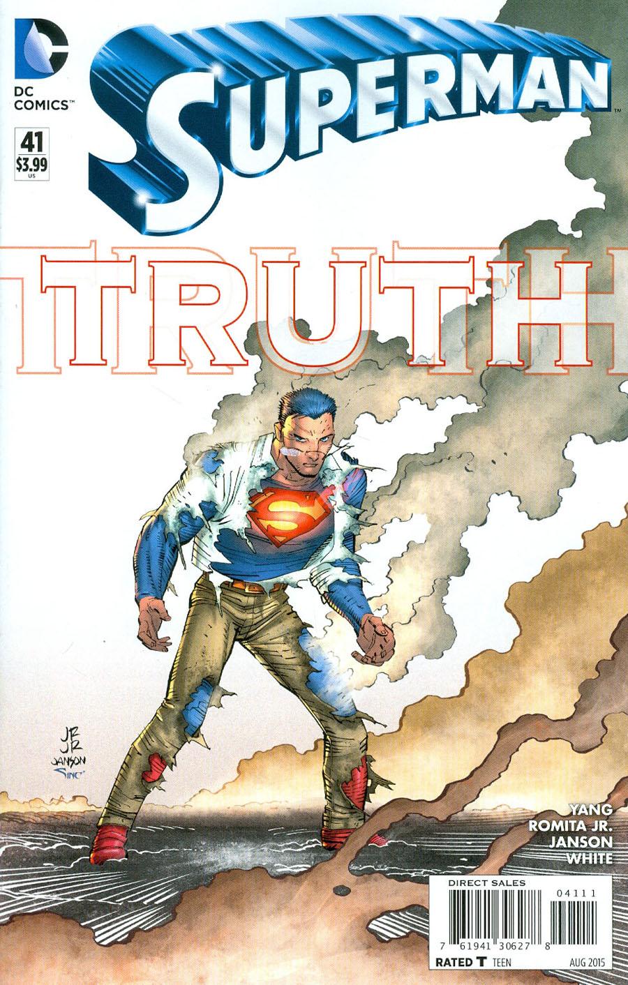 Superman Vol 4 #41 Cover A Regular John Romita Jr Cover