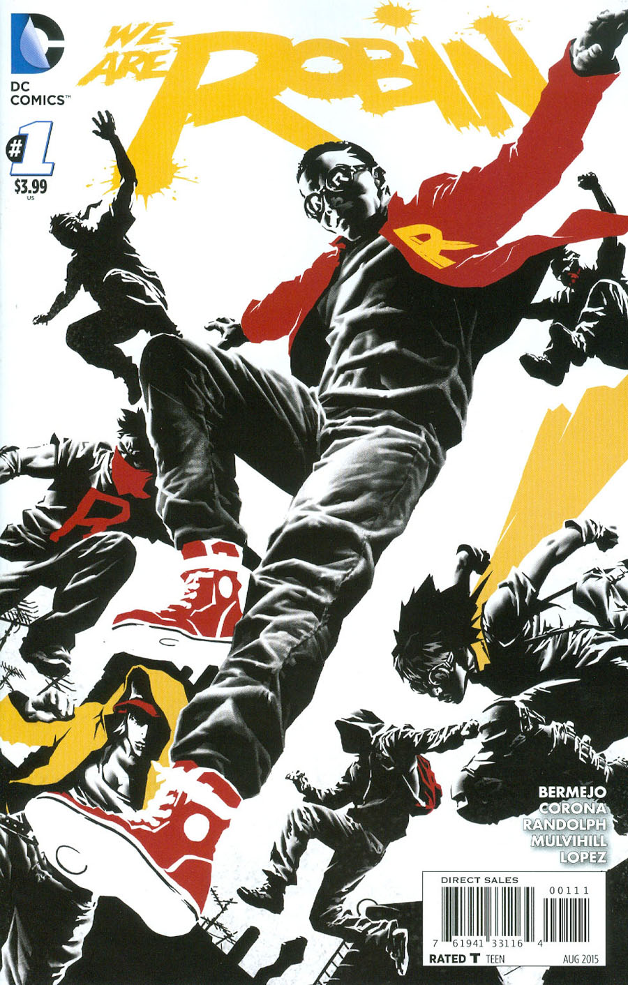 We Are Robin #1 Cover A 1st Ptg Regular Lee Bermejo Cover