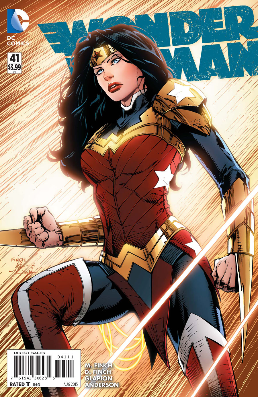 Wonder Woman Vol 4 #41 Cover A Regular David Finch Cover