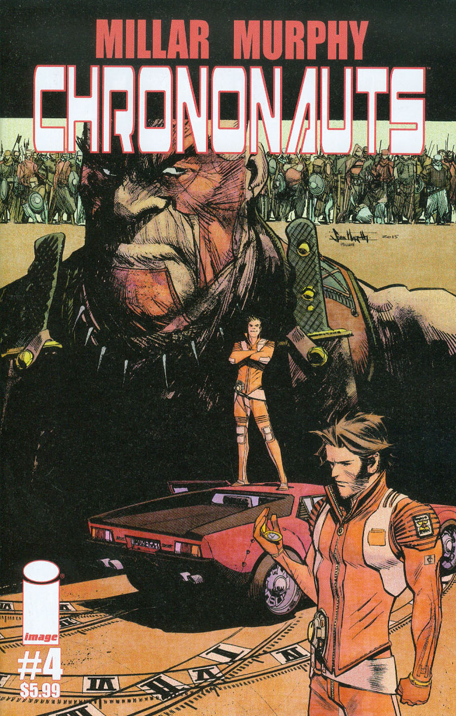 Chrononauts #4 Cover A Regular Sean Murphy Cover