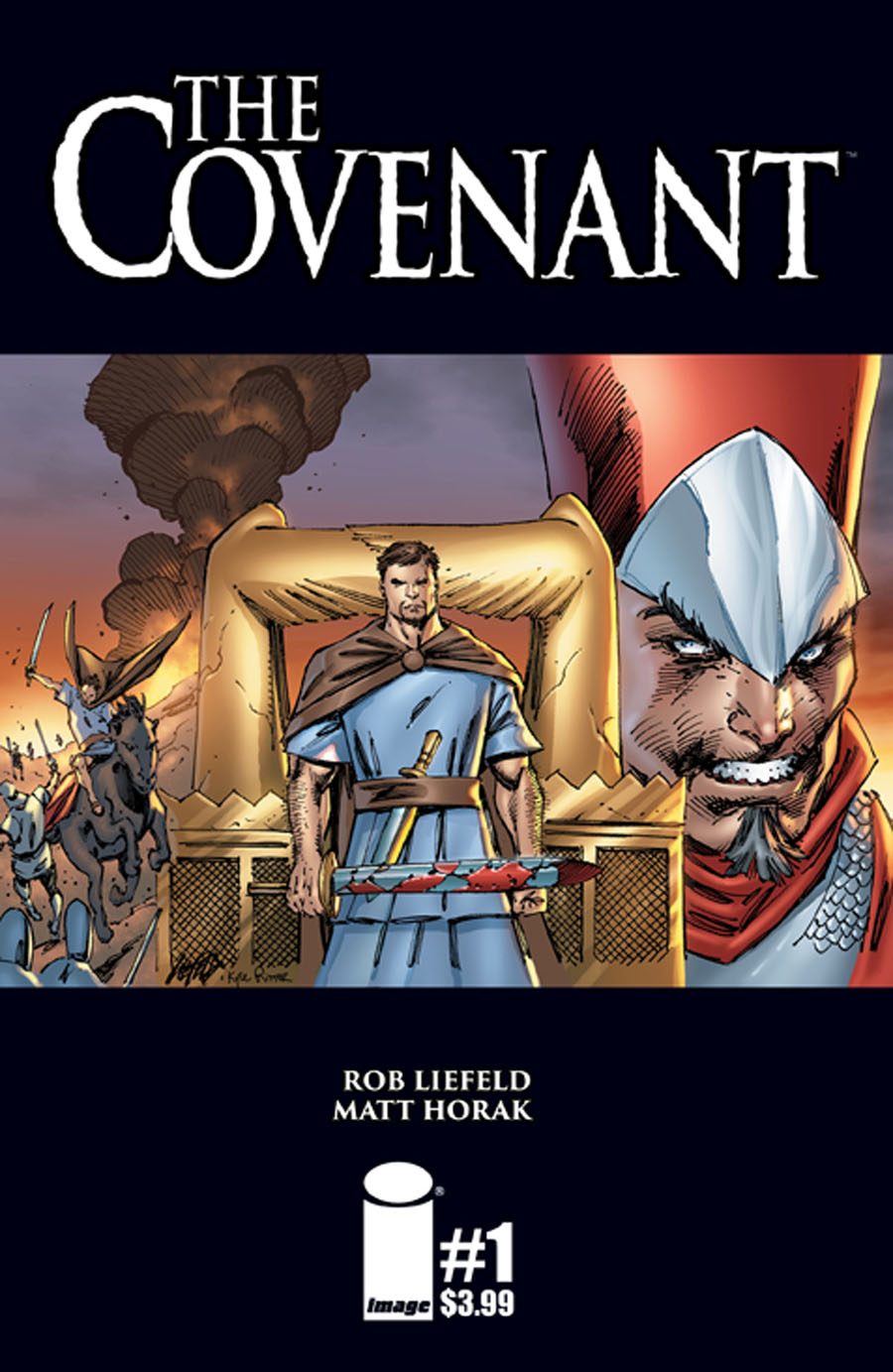 Covenant #1 Cover A Regular Rob Liefeld Cover