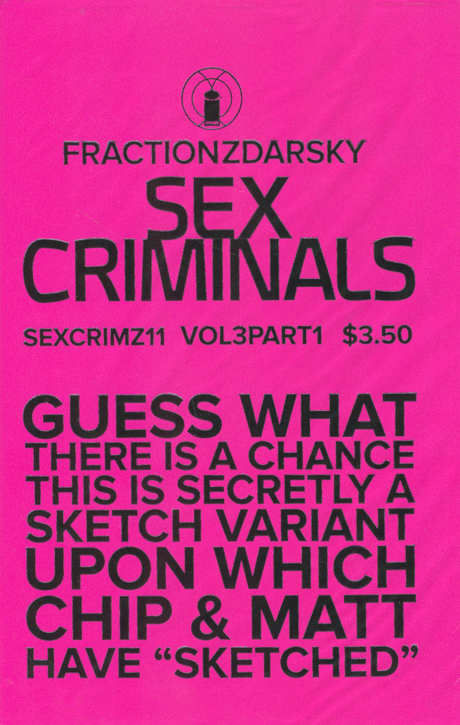 Sex Criminals #11 Cover A 1st Ptg Regular Crip Znbloodz Cover With Polybag