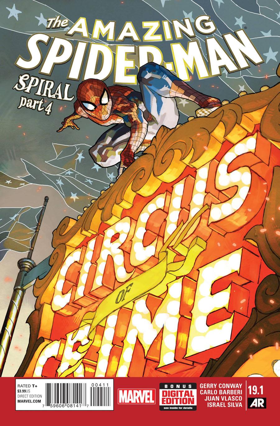 Amazing Spider-Man Vol 3 #19.1 Cover A Regular Yasmine Putri Cover