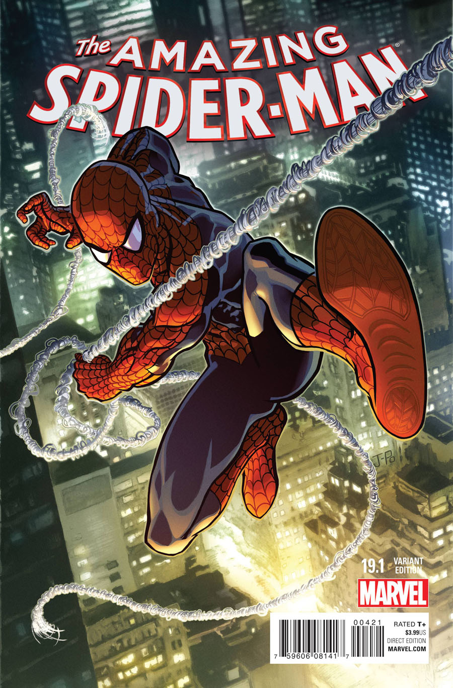 Amazing Spider-Man Vol 3 #19.1 Cover B Variant Justin Ponsor Cover