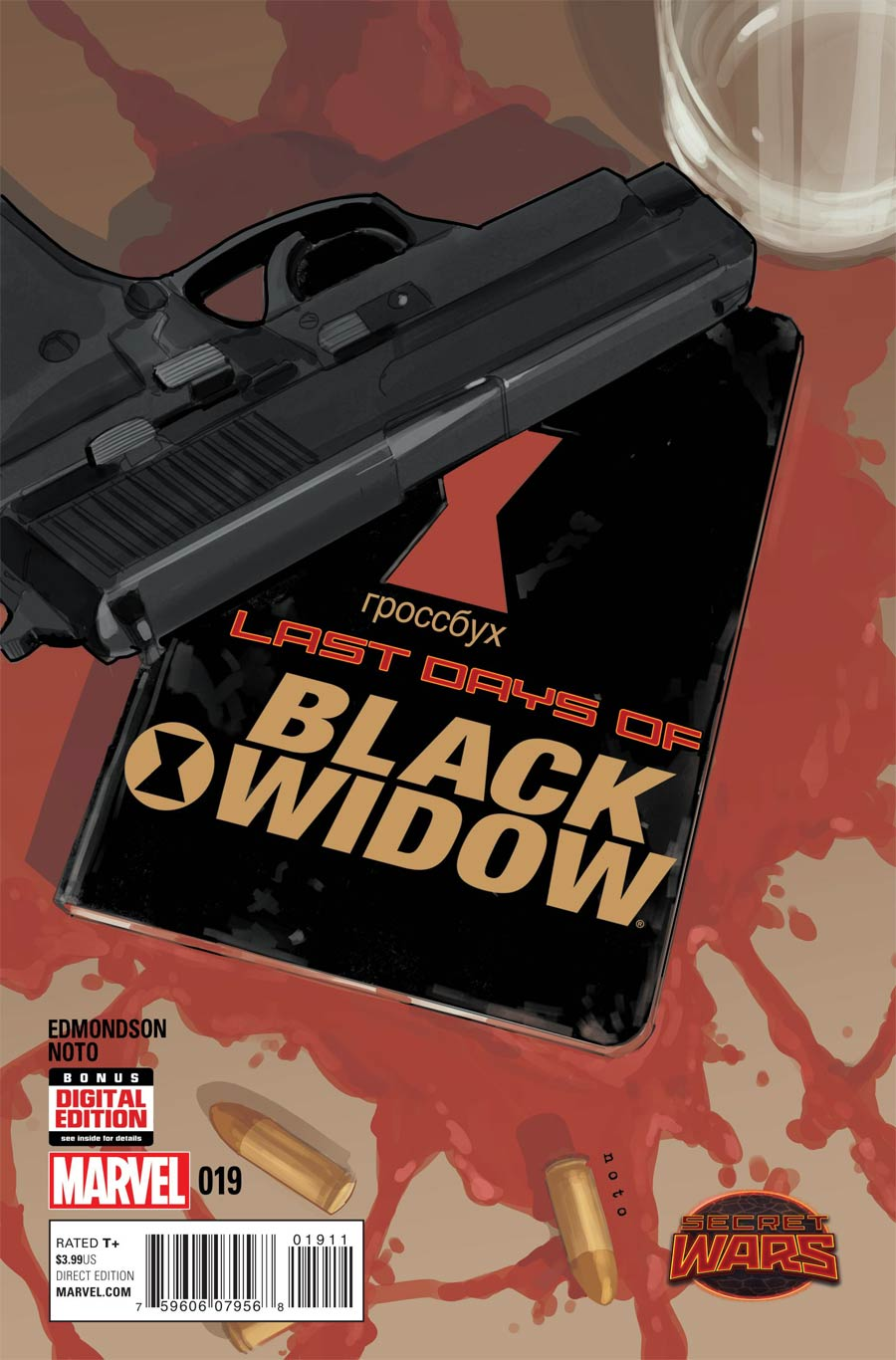 Black Widow Vol 5 #19 Cover A Regular Phil Noto Cover (Secret Wars Last Days Tie-In)