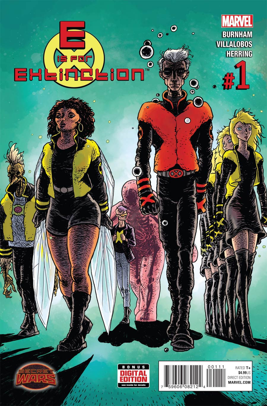 E Is For Extinction #1 Cover A Regular Ramon Villalobos Cover (Secret Wars Warzones Tie-In)
