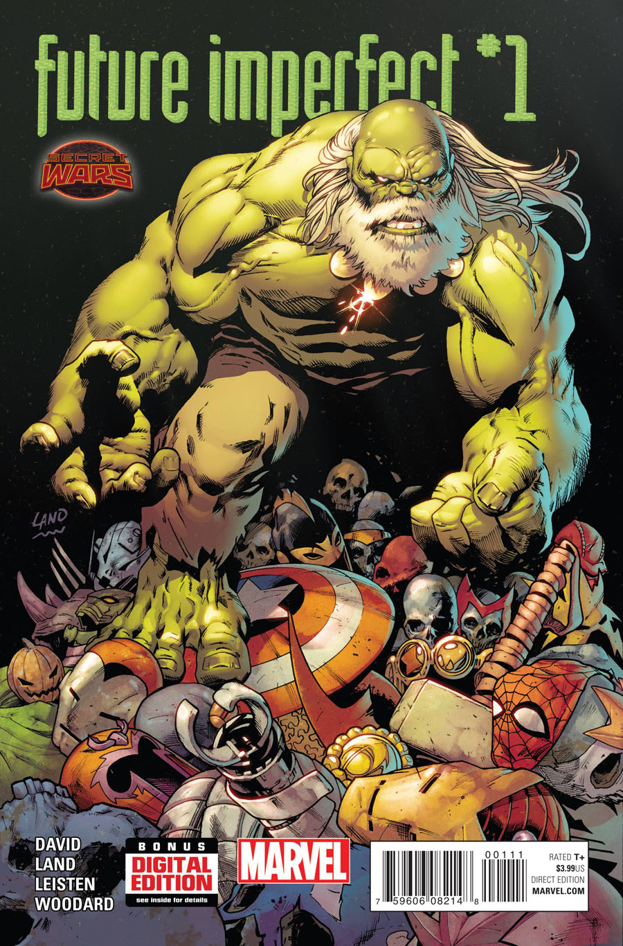Future Imperfect #1 Cover A Regular Greg Land Cover (Secret Wars Warzones Tie-In)