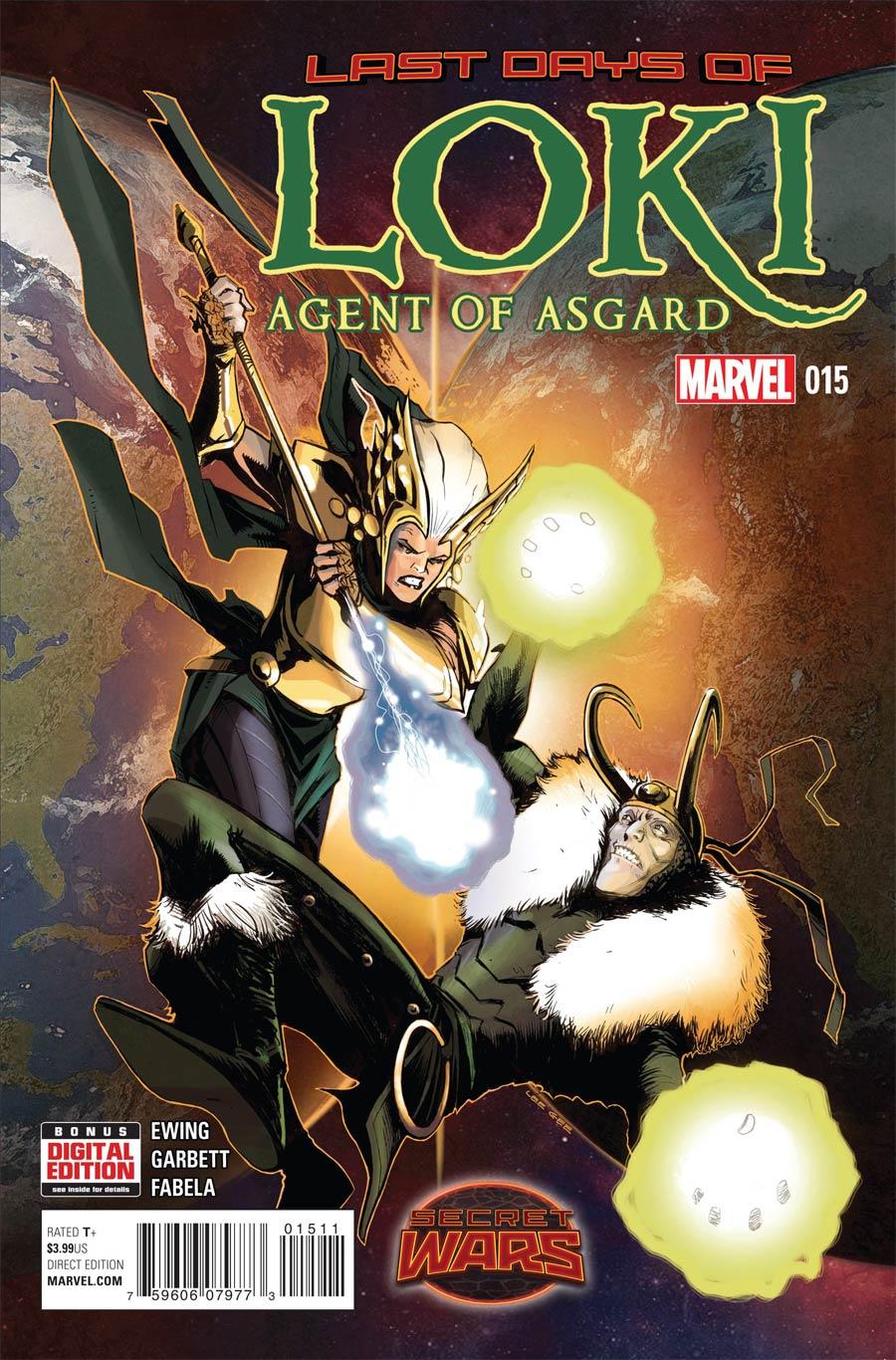 Loki Agent Of Asgard #15 (Secret Wars Last Days Tie-In)