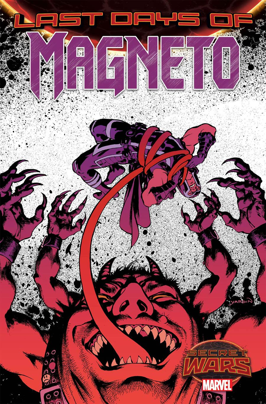 Magneto Vol 3 #19 Cover A Regular David Yardin Cover (Secret Wars Last Days Tie-In)