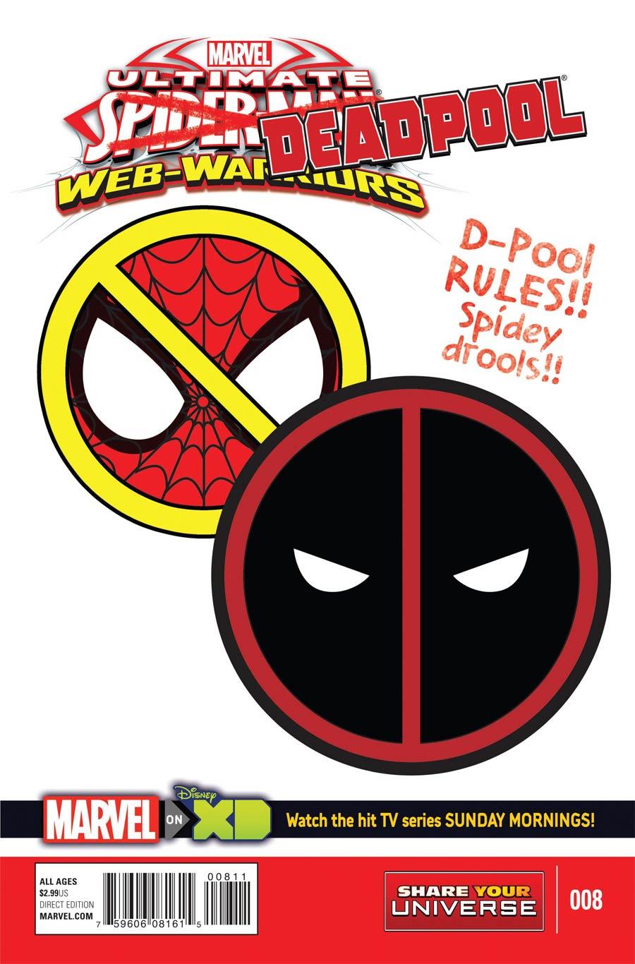 Marvel Universe Ultimate Spider-Man Web Warriors #8