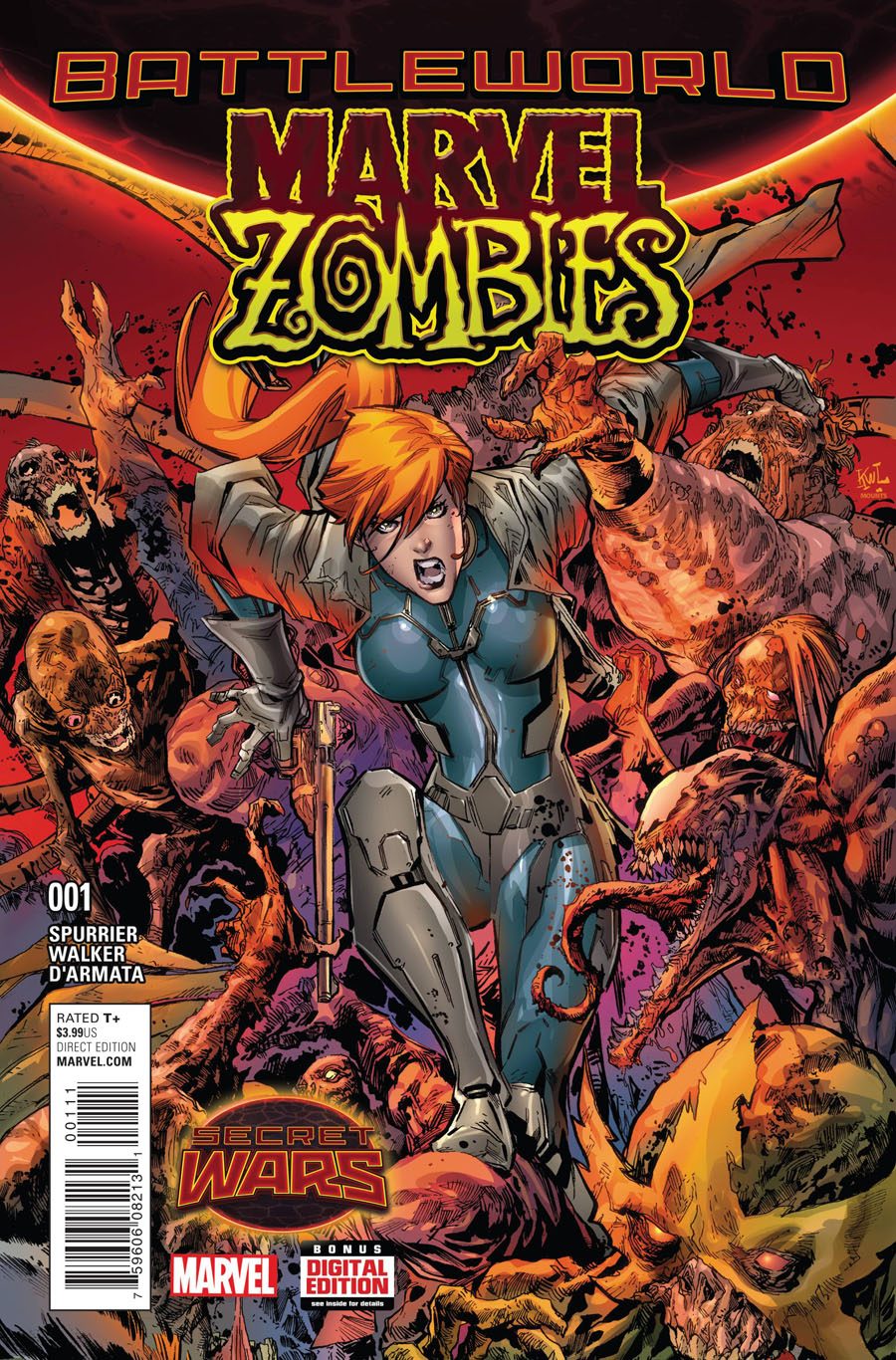 Marvel Zombies Vol 6 #1 Cover A Regular Ken Lashley Cover (Secret Wars Battleworld Tie-In)