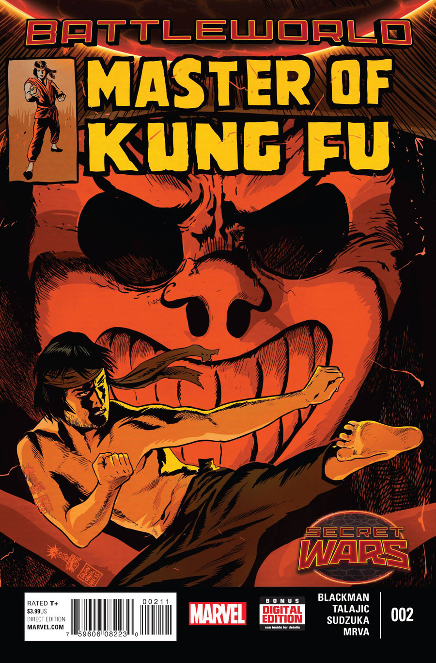 Master Of Kung Fu Vol 2 #2 (Secret Wars Battleworld Tie-In)
