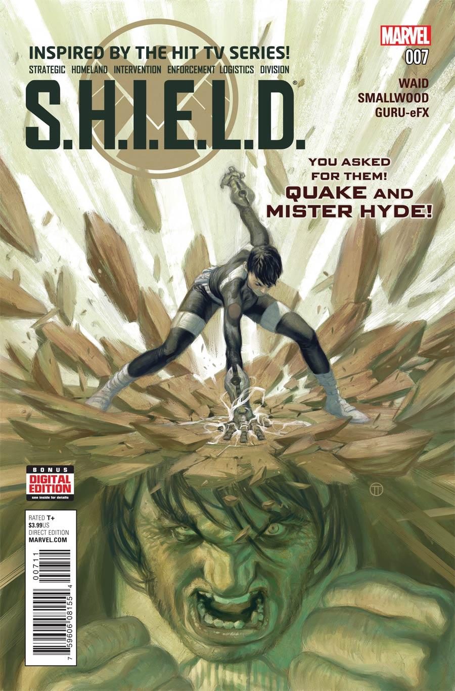 S.H.I.E.L.D. Vol 4 #7 Cover A Regular Julian Totino Tedesco Cover
