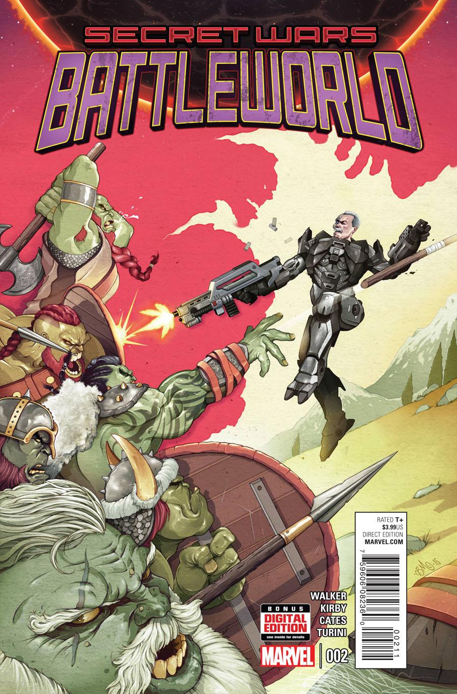 Secret Wars Battleworld #2 Cover A 1st Ptg Regular Chris B Murray Cover