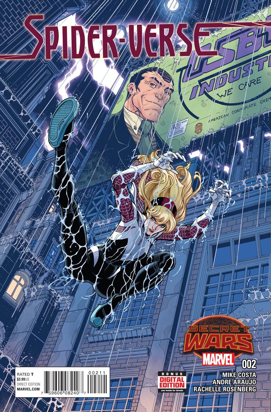 Spider-Verse Vol 2 #2 Cover A Regular Nick Bradshaw Cover (Secret Wars Warzones Tie-In)