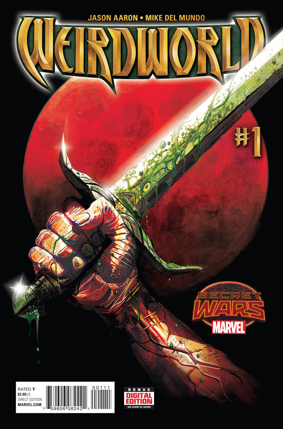 Weirdworld #1 Cover A Regular Michael Del Mundo Cover (Secret Wars Warzones Tie-In)
