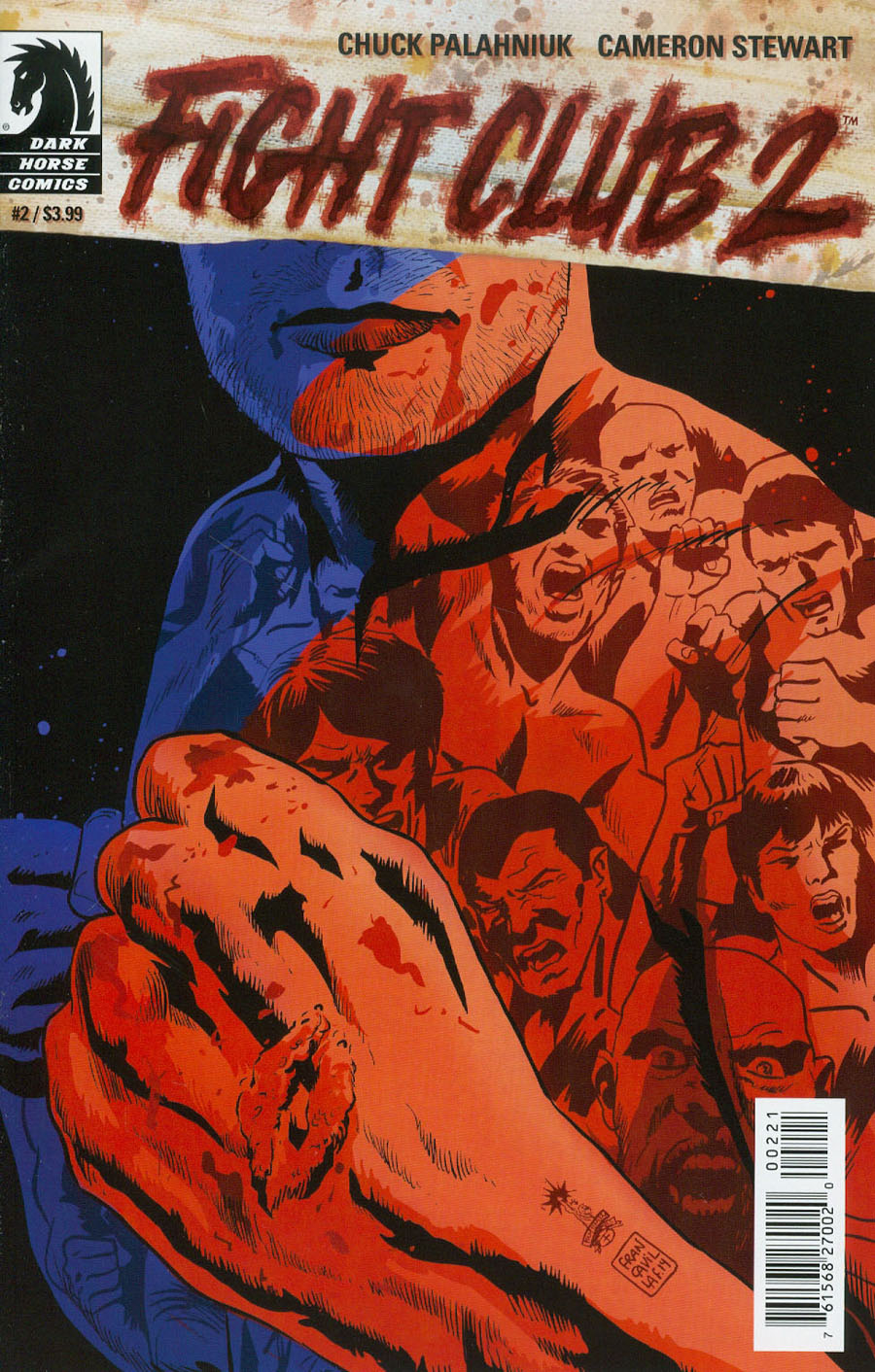 Fight Club 2 #2 Cover B Variant Francesco Francavilla Cover