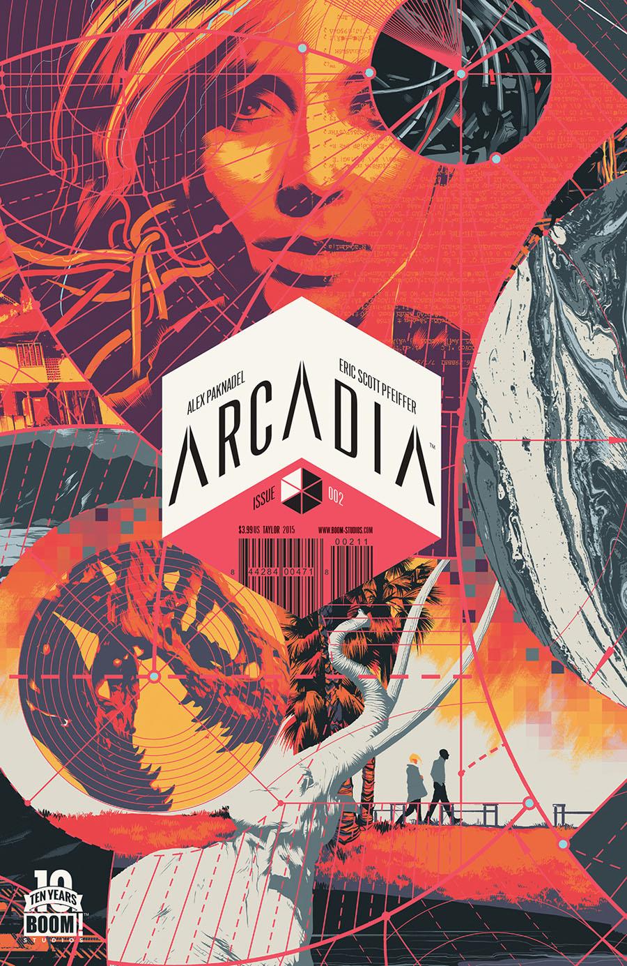 Arcadia #2 Cover A 1st Ptg Regular Matt Taylor Cover