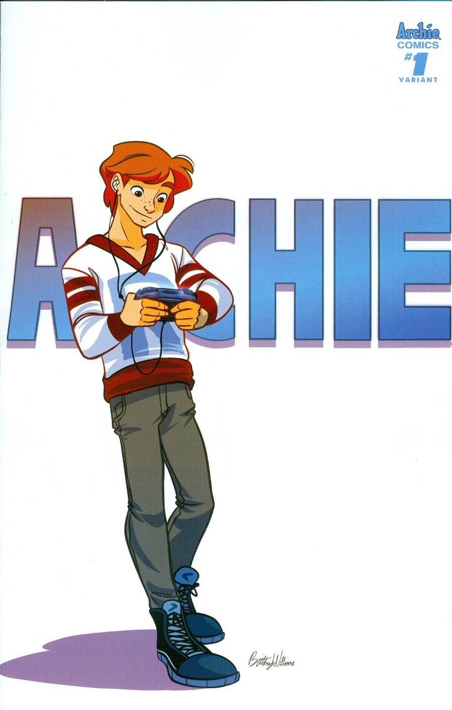 Archie Vol 2 #1 Cover V Variant Brittney Williams Cover