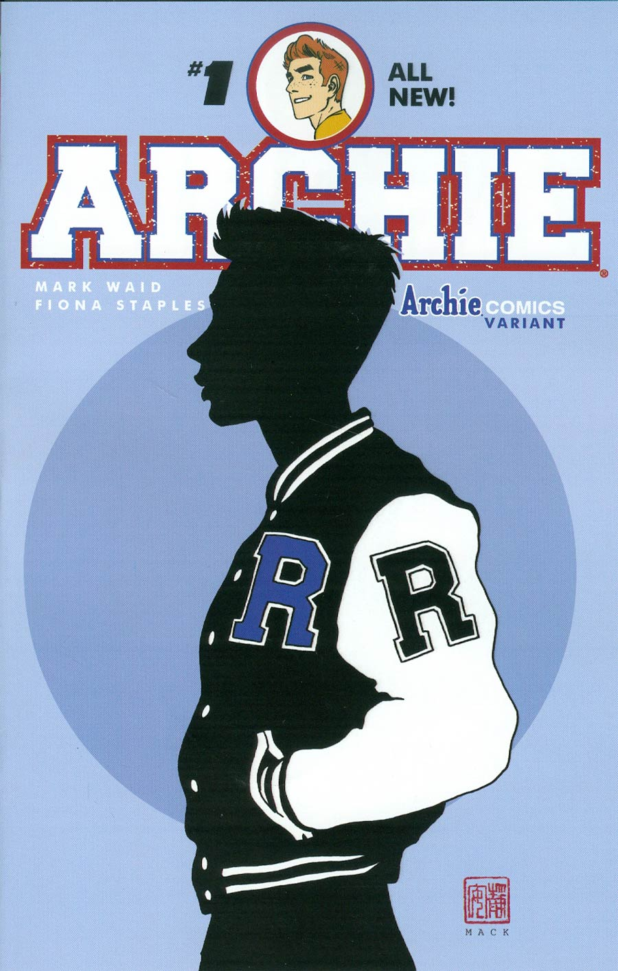 Archie Vol 2 #1 Cover N Variant David Mack Cover