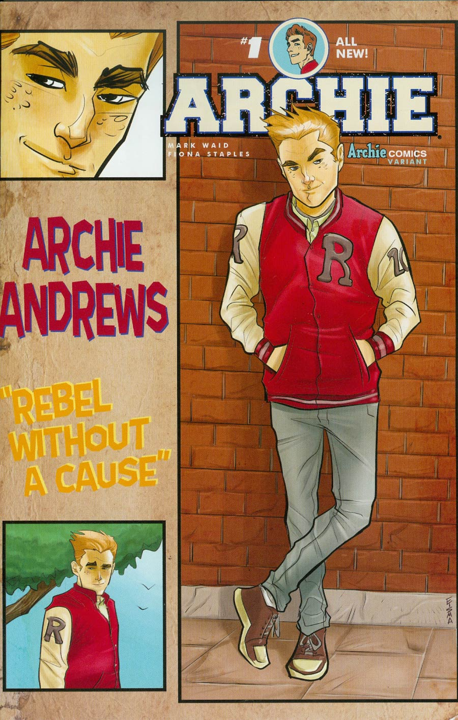 Archie Vol 2 #1 Cover G Variant Joe Eisma Cover