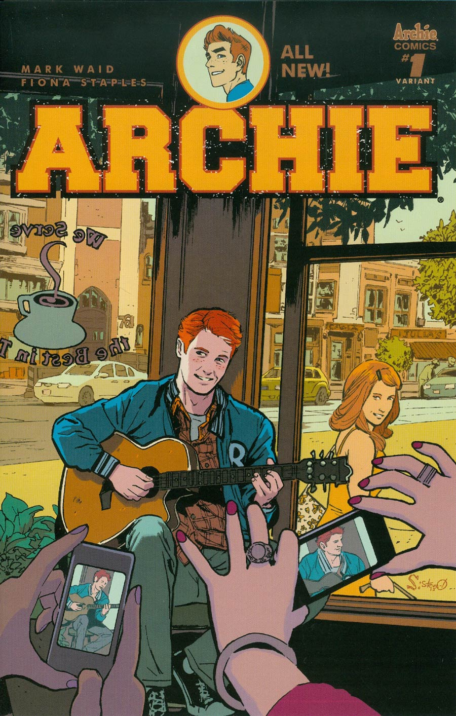 Archie Vol 2 #1 Cover T Variant Greg Scott Cover
