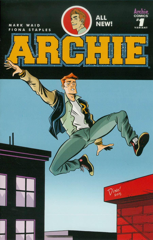 Archie Vol 2 #1 Cover M Variant Dean Haspiel Cover