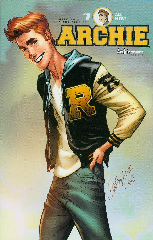 Archie Vol 2 #1 Cover D Variant J Scott Campbell Cover
