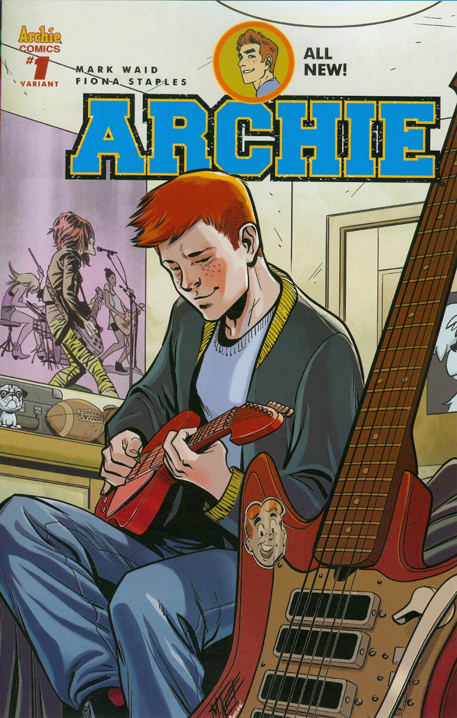 Archie Vol 2 #1 Cover P Variant Mike Norton Cover