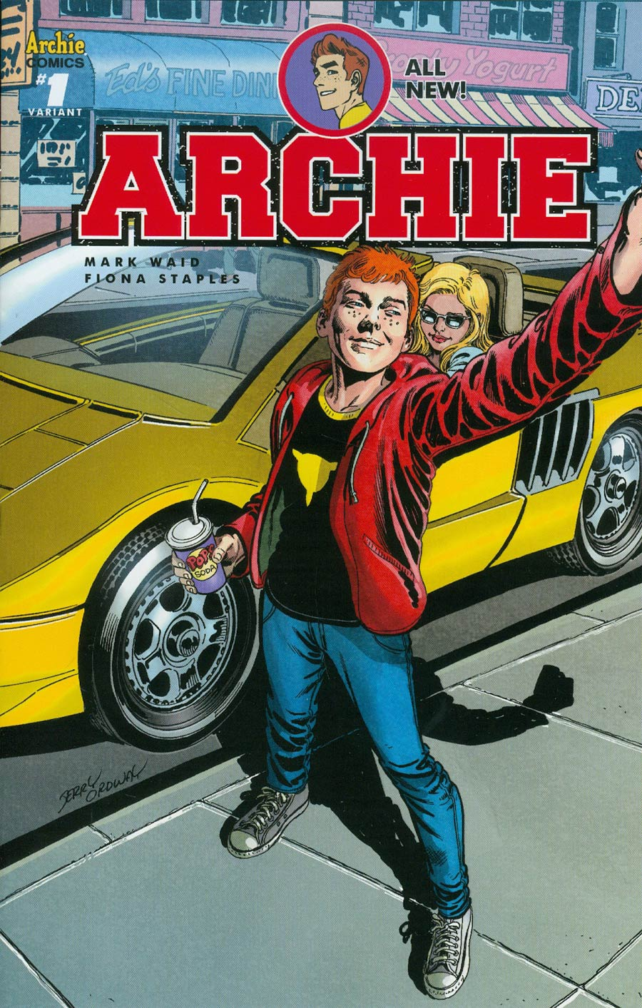Archie Vol 2 #1 Cover Q Variant Jerry Ordway Cover