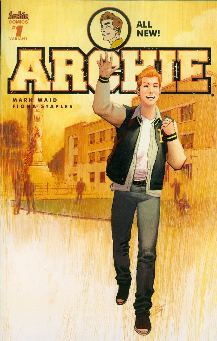 Archie Vol 2 #1 Cover S Variant Ron Salas Cover