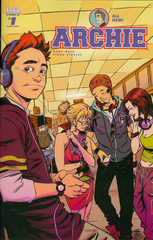 Archie Vol 2 #1 Cover K Variant Sanford Greene Cover