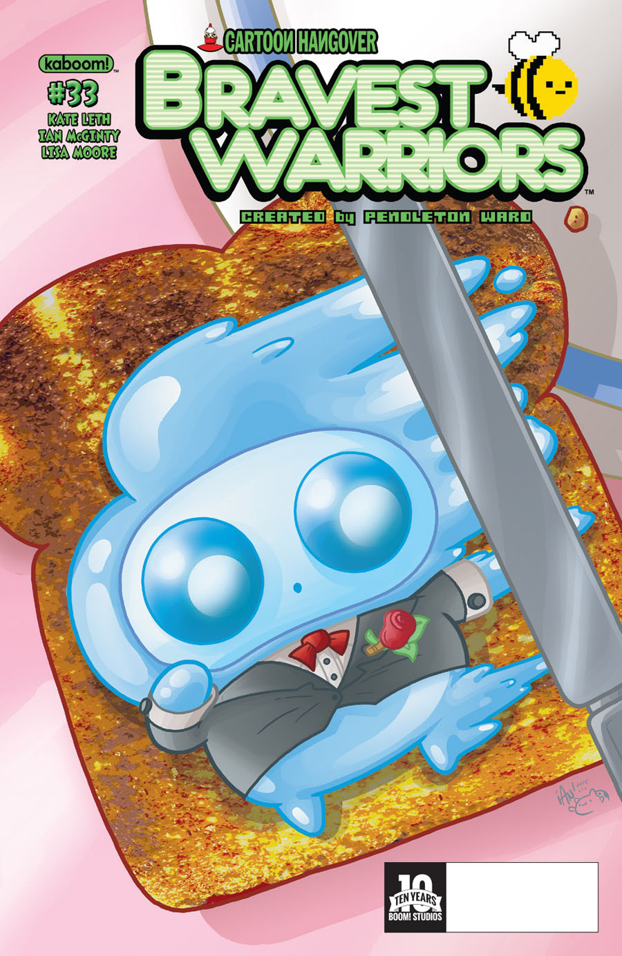 Bravest Warriors #33 Cover A Regular Ian McGinty Cover