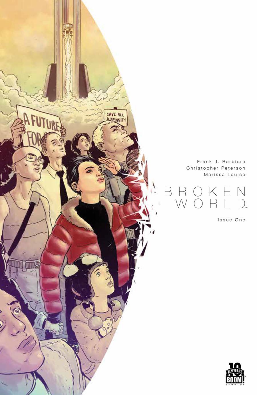 Broken World #1 Cover A 1st Ptg Regular Christopher Peterson Cover