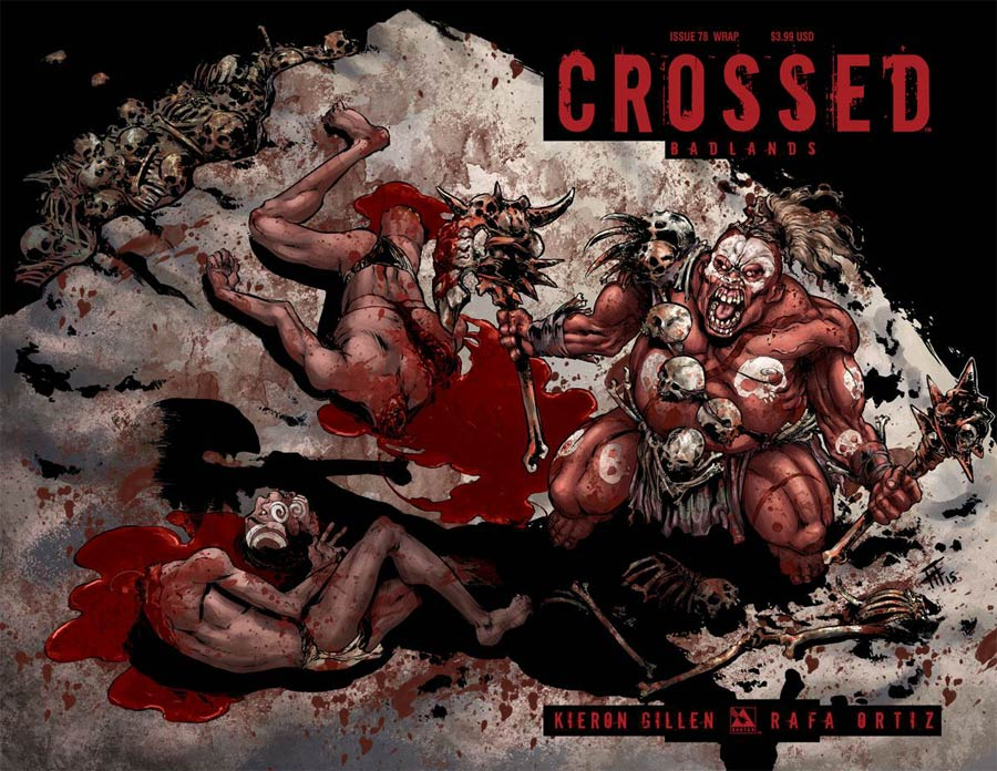 Crossed Badlands #78 Cover D Wraparound Cover