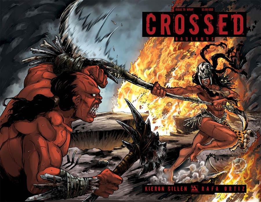 Crossed Badlands #79 Cover D Wraparound Cover