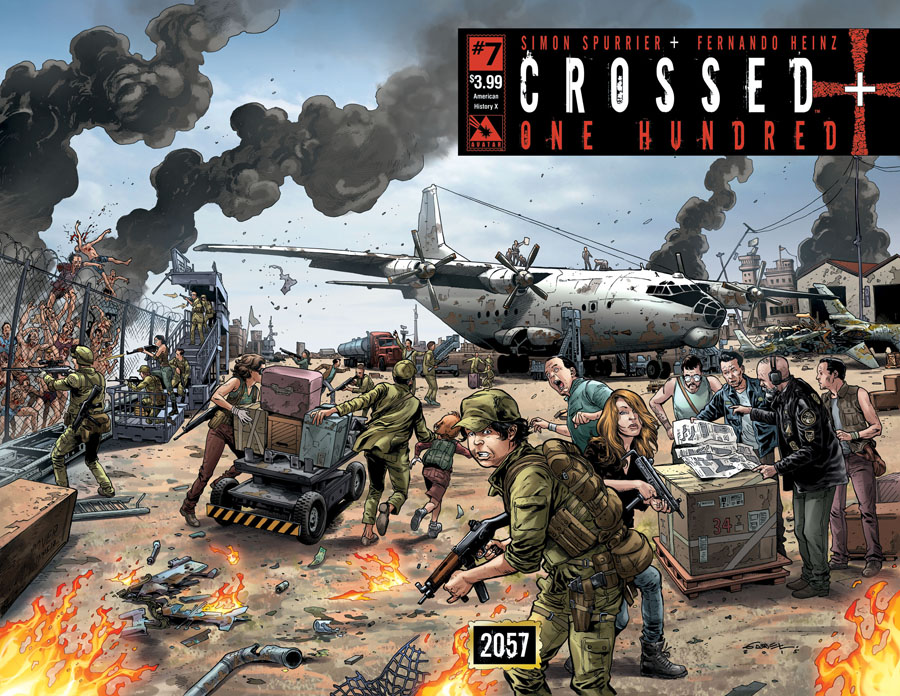 Crossed Plus 100 #7 Cover B American History X Wraparound Cover