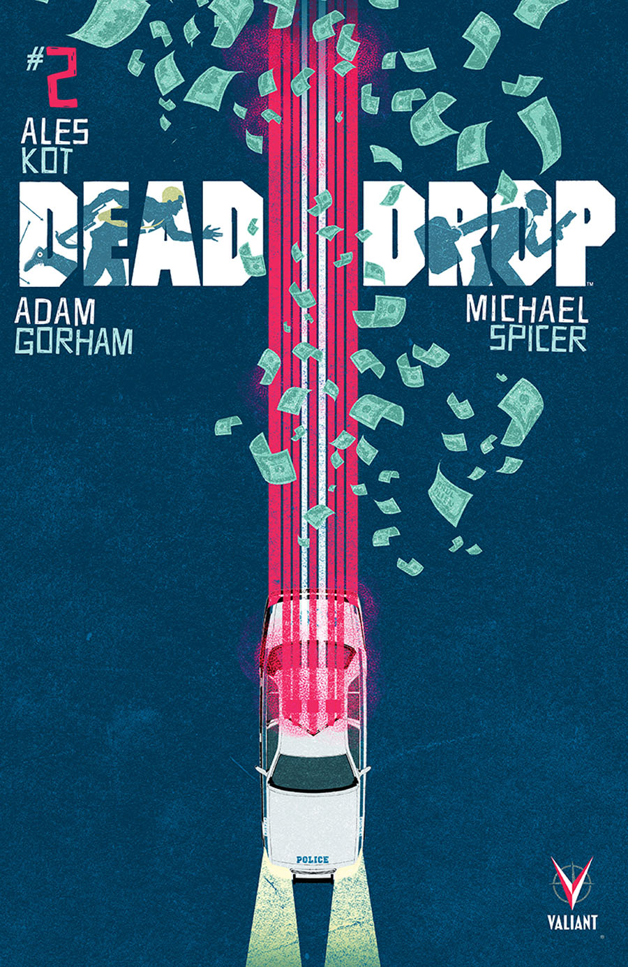 Dead Drop #2 Cover A Regular Raul Allen Cover