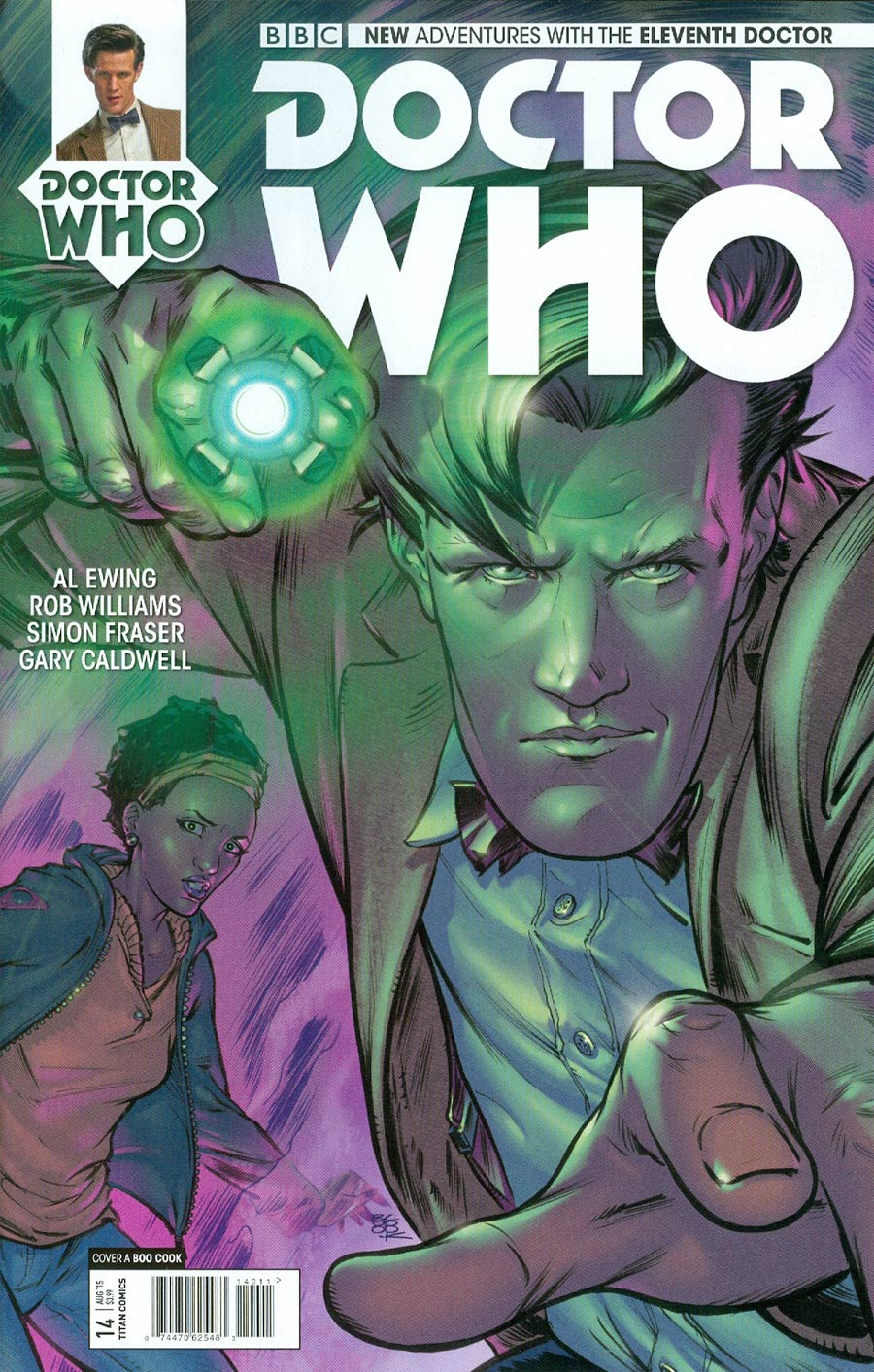 Doctor Who 11th Doctor #14 Cover A Regular Boo Cook Cover
