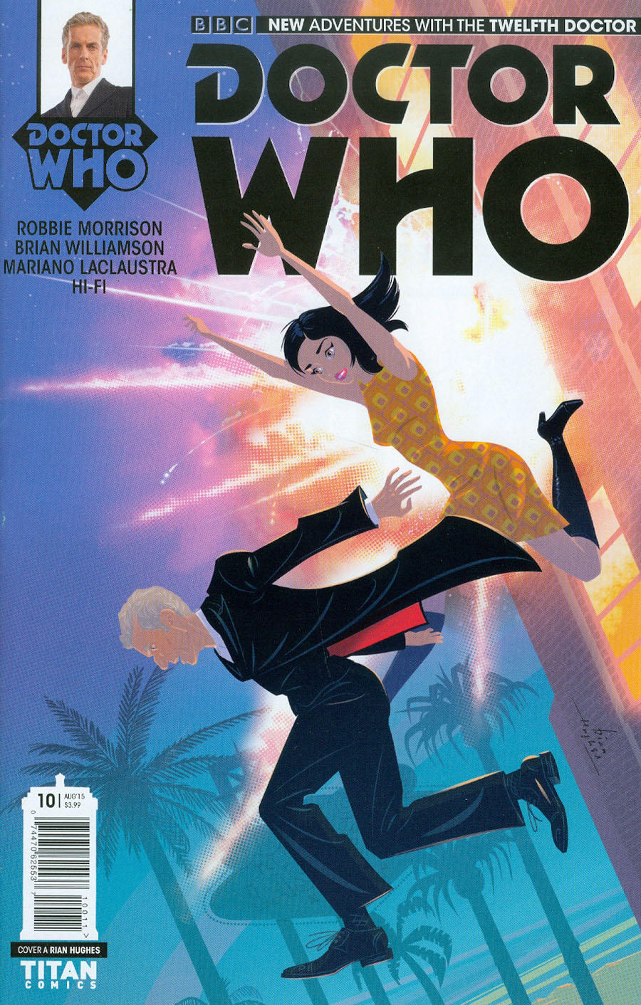 Doctor Who 12th Doctor #10 Cover A Regular Rian Hughes Cover