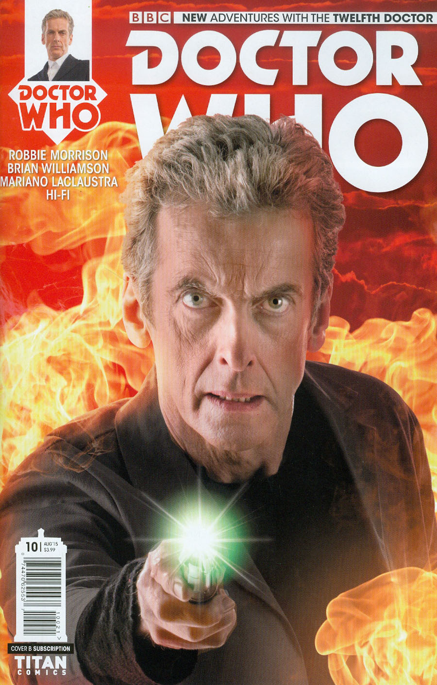 Doctor Who 12th Doctor #10 Cover B Variant Photo Subscription Cover