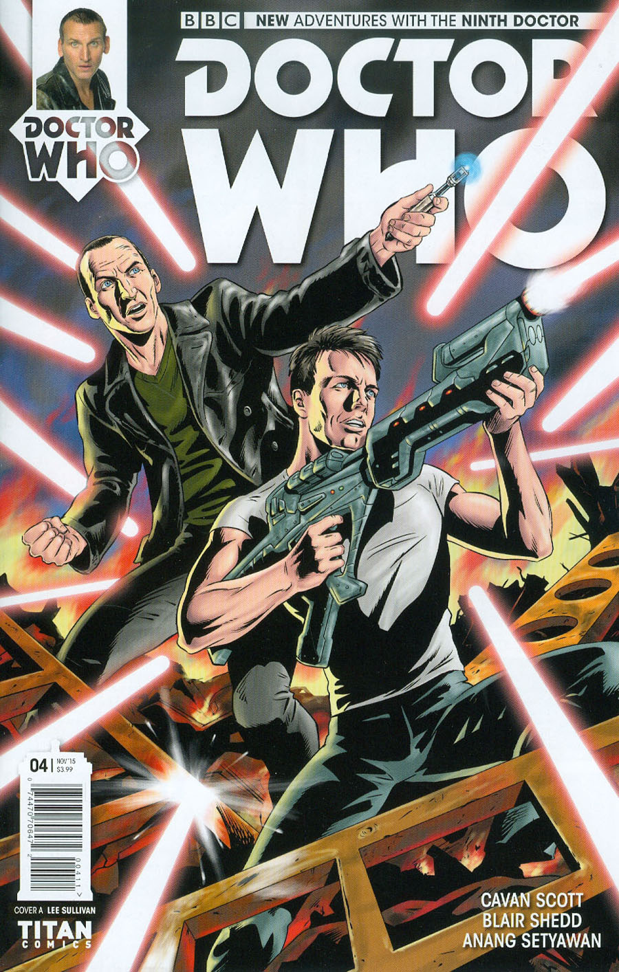 Doctor Who 9th Doctor #4 Cover A Regular Blair Shedd Cover