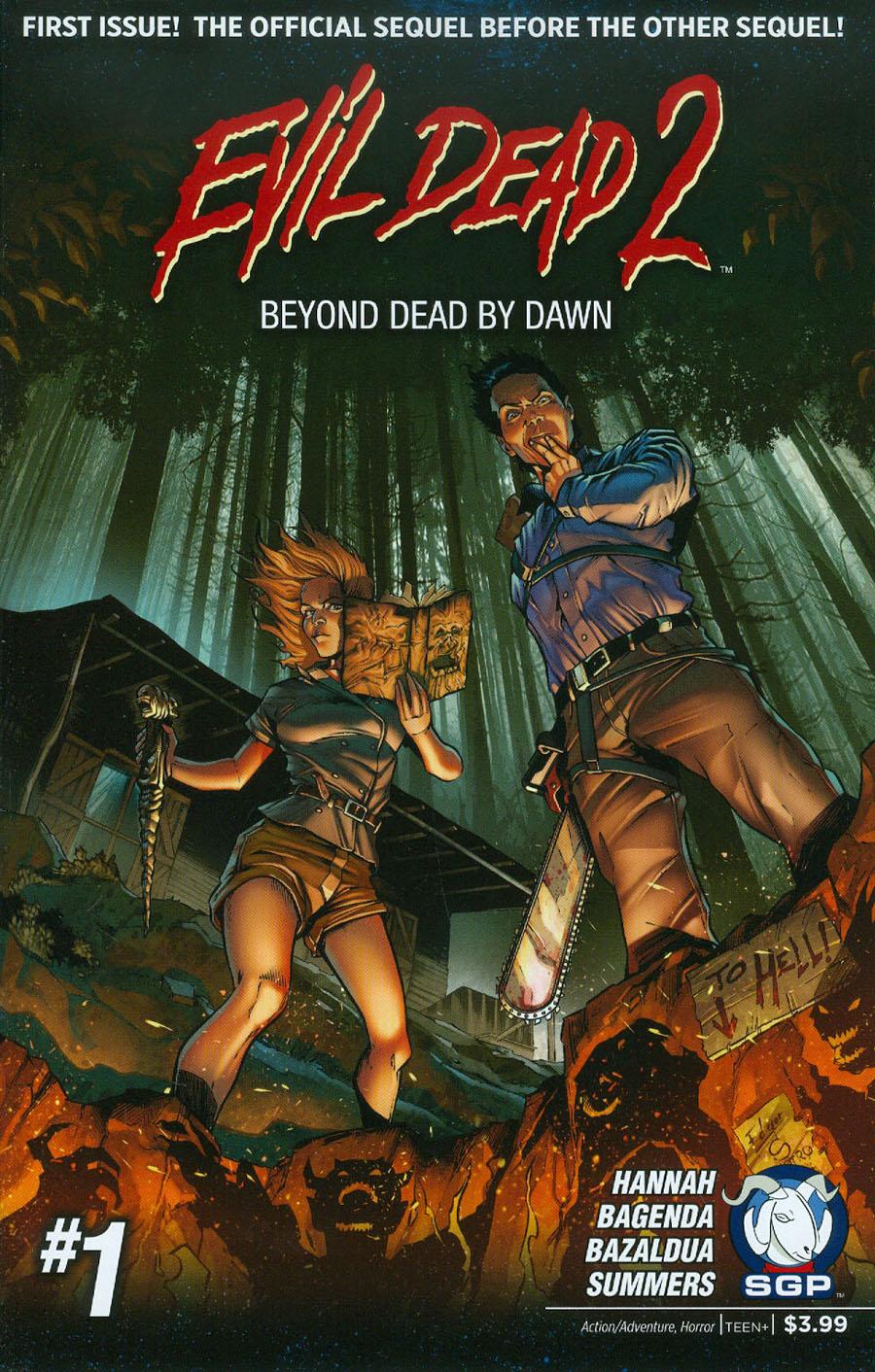 Evil Dead 2 Beyond Dead By Dawn #1 Cover A Regular Edition